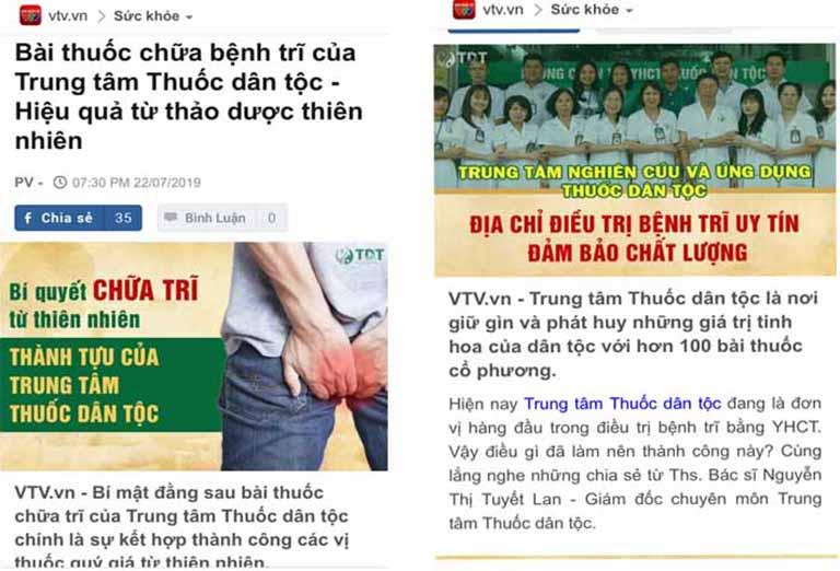 Báo chí đưa tin về bài thuốc Thăng trĩ Dưỡng huyết thang