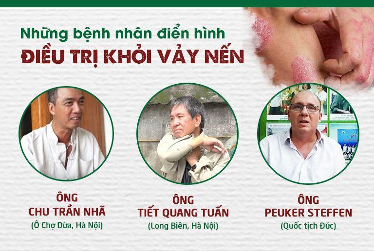 Những bệnh nhân đã điều trị khỏi bệnh vảy nến nhờ bài thuốc Thanh bì dưỡng can thang