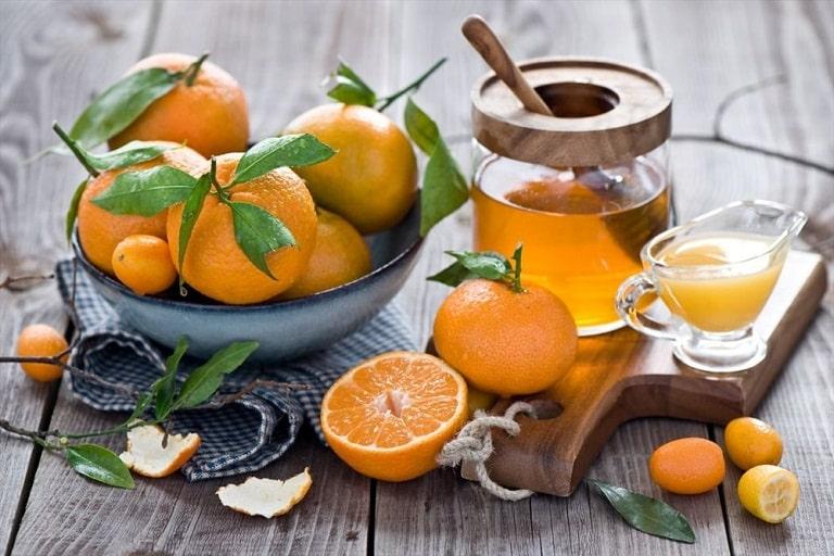 Mật ong quất là giải pháp giúp trị viêm amidan hữu hiệu