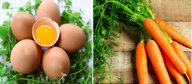 Uống sinh tố trứng gà cà rốt để cải thiện tình trạng xuât tinh sớm ở nam giới