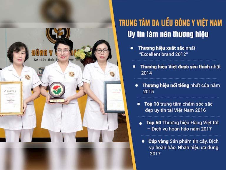 Trung tâm Da liễu Đông y Việt Nam hội tụ nhiều bác sĩ giỏi