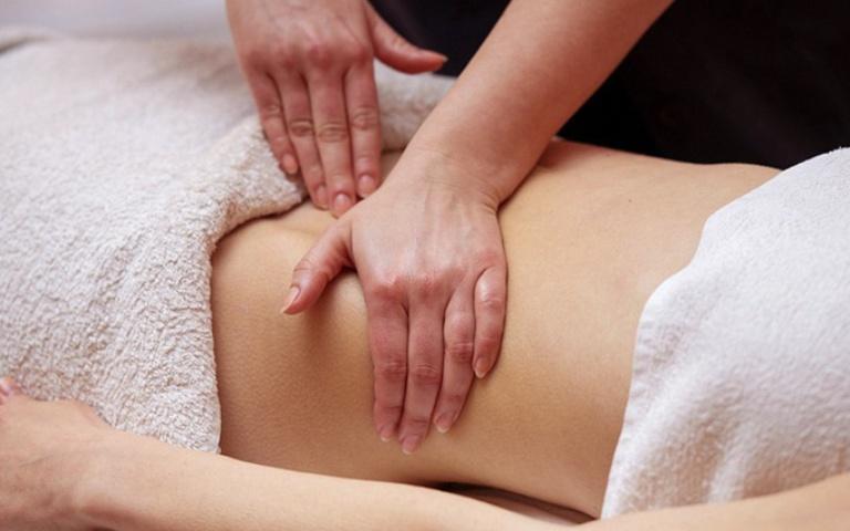 Massage bụng tăng tuần hoàn máu đến hệ tiêu hóa giúp cải thiện triệu chứng đau hiệu quả