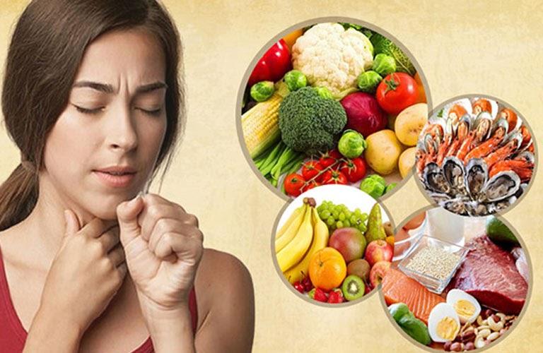 Điều trị viêm họng nên ăn gì không nên ăn gì?