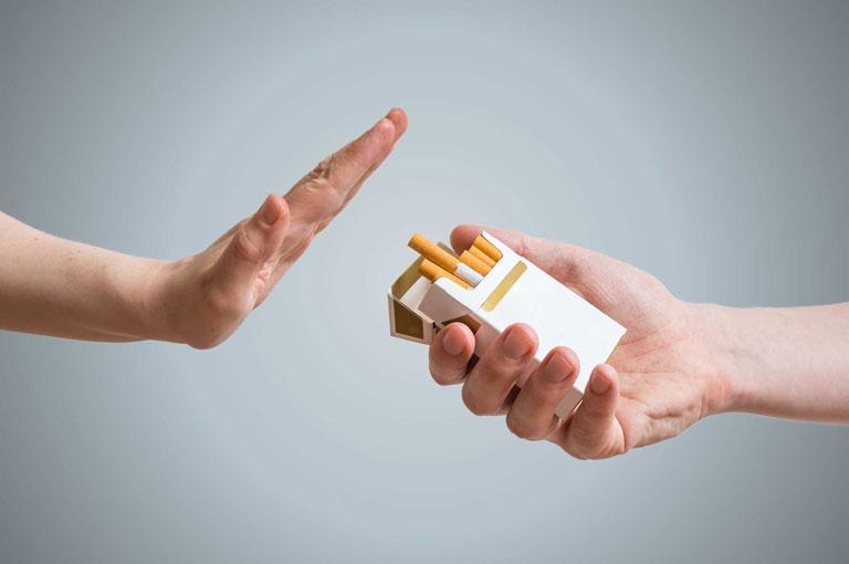 Nói không với thuốc và khói thuốc