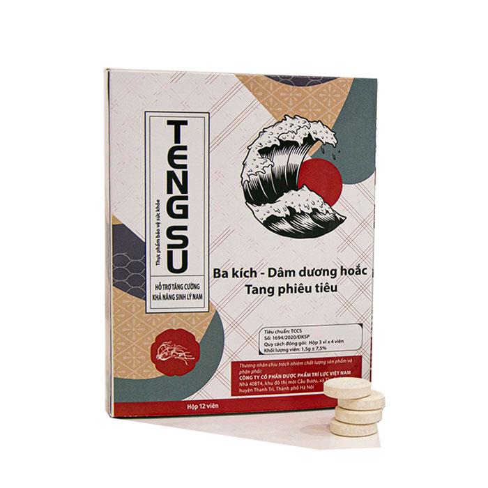Tengsu - thuốc tăng cường sinh lý dạng kẹo ngậm