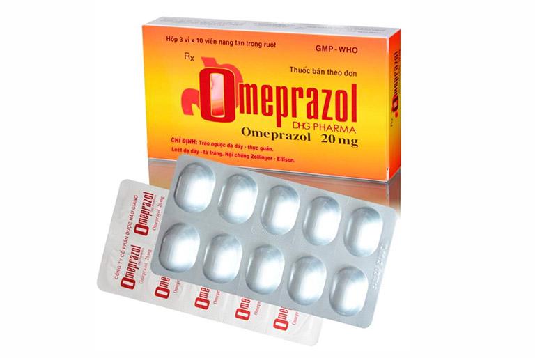 Thuốc Omeprazol được chỉ định điều trị bệnh đau dạ dày, trào ngược dạ dày - tá tràng