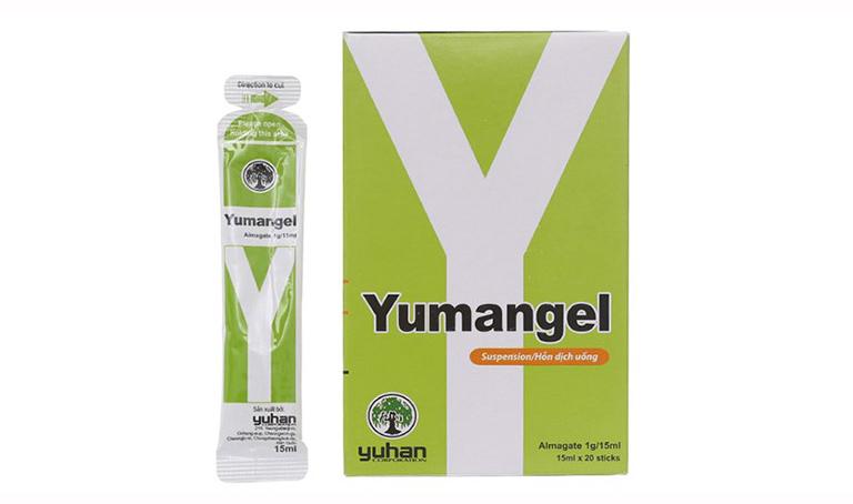 Thuốc Yumangel chữa đau dạ dày