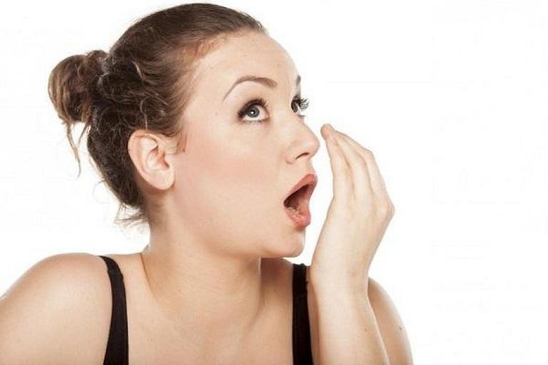 Bệnh khiến hơi thở có mùi hôi do vi khuẩn gây nhiễm trùng diện rộng