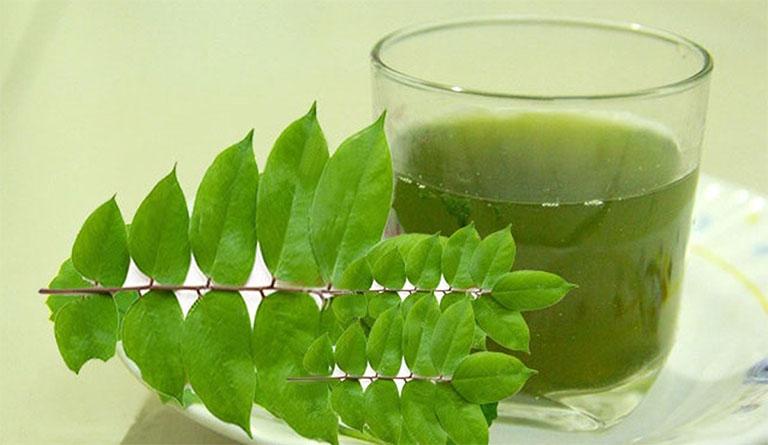 Uống nước lá khế tươi để cải thiện các triệu chứng của bệnh viêm da cơ địa từ bên trong