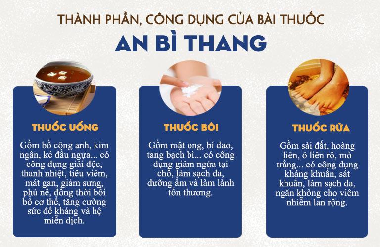 An Bì Thang - Bài thuốc hoàn hảo cho người bệnh