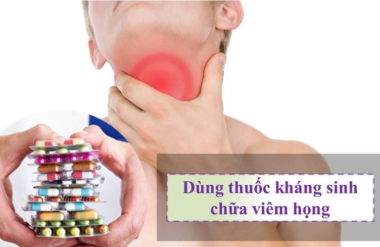 Viêm họng có nên dùng thuốc kháng sinh chữa bệnh không?