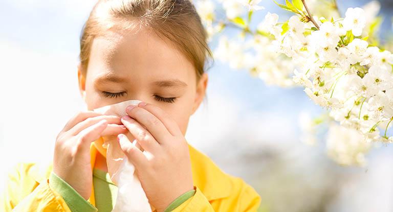 Viêm họng kéo dài có thể do dị ứng phấn hoa