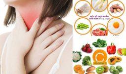 Thực phẩm tốt tốt cho người bị viêm họng