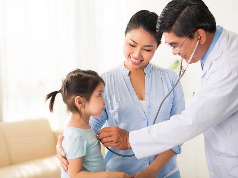 viêm phế quản phổi ở trẻ em