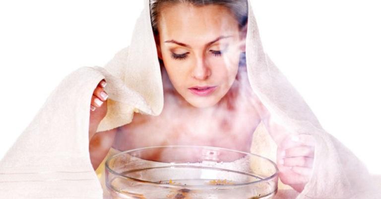 Xông hơi giúp giảm các triệu chứng viêm xoang hiệu quả