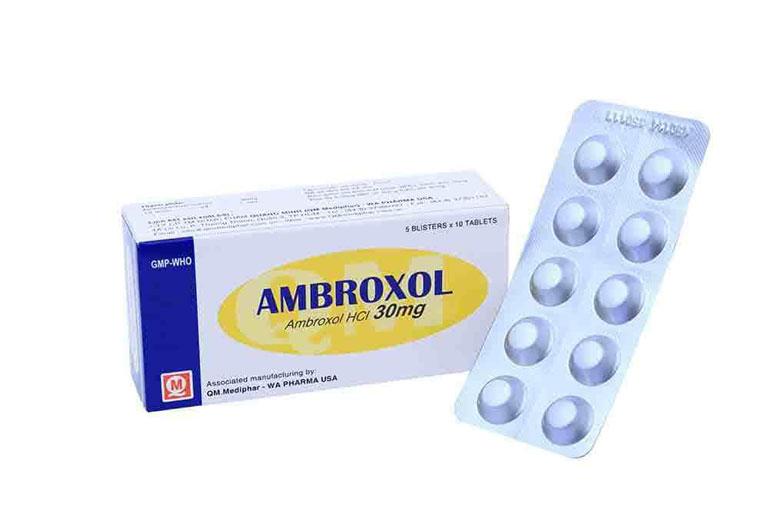 Thuốc long đờm Ambroxol