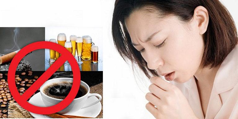 Nhóm thực phẩm nên kiêng khi bị bệnh về đường hô hấp