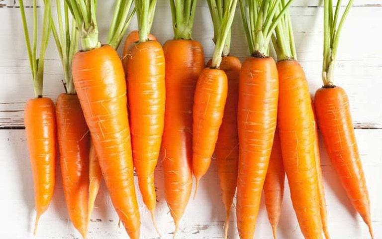 Cà rốt chứa nhiều chất dinh dưỡng giúp hỗ trợ sinh lý