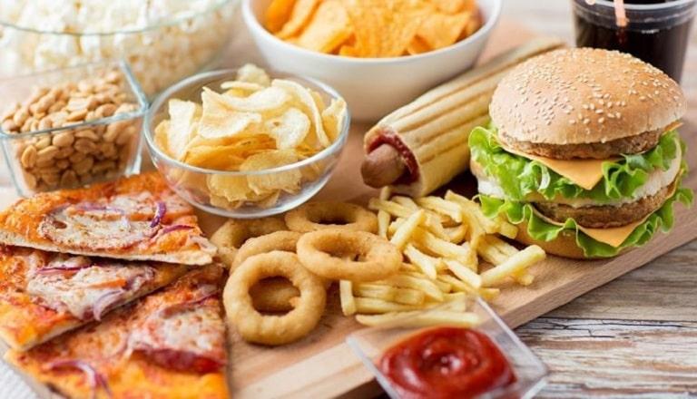 Nam giới bị rối loạn cường dương nên kiêng chất béo