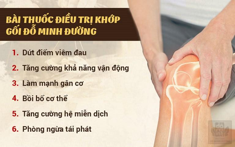 Bài thuốc gia truyền chữa đau khớp gối của Đỗ Minh Đường hiệu quả cao và toàn diện