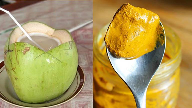 Bài thuốc dân gian chữa đau dạ dày từ quả dừa