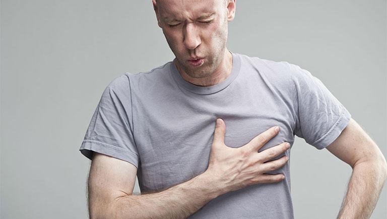 tác hại của trào ngược dạ dày