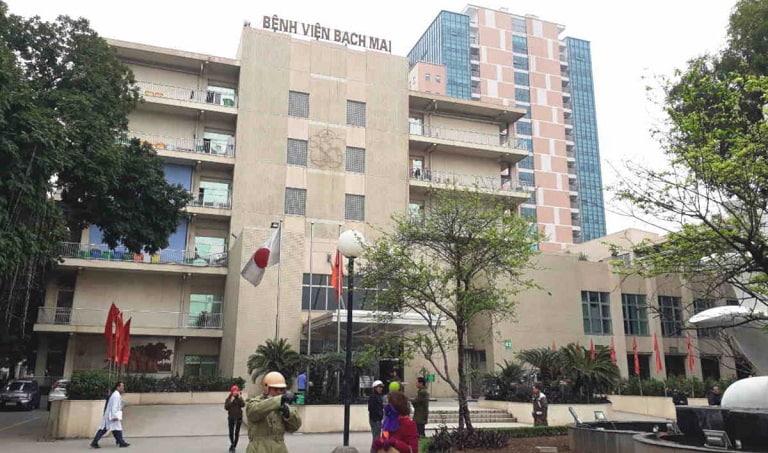 Bệnh viện Bạch Mai uy tín trong điều trị viêm xoang bằng châm cứu