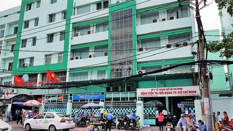 Bệnh viện Tai Mũi Họng TPHCM là một trong những cơ sở y tế lớn