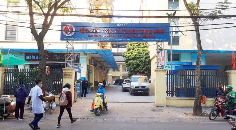 Bệnh viện Y học cổ truyền Trung ương châm cứu chữa viêm xoang hiệu quả