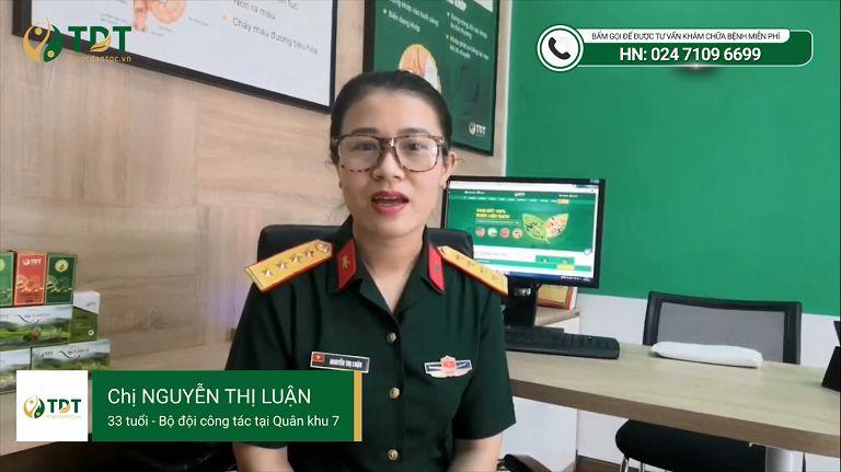 Nguyễn Thị Luận chia sẻ về Sơ can Bình vị tán