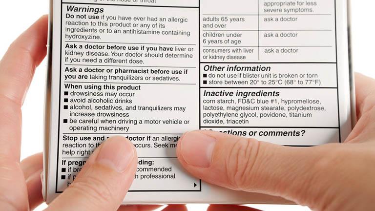 Luôn đọc kỹ hướng dẫn sử dụng thuốc trước khi sử dụng