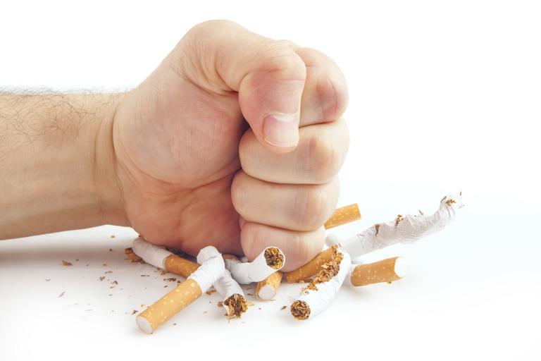 Không hút thuốc lá khi đang điều trị chứng rối loạn