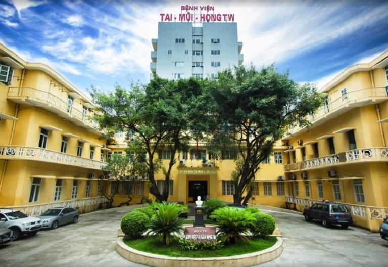 Cắt amidan cho trẻ ở đâu tốt nhất có thể kể đến Bệnh viện Tai Mũi Họng Trung Ương