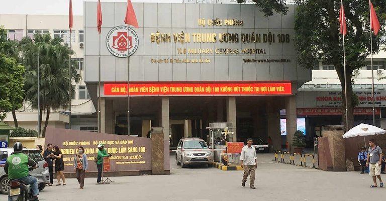 Bệnh viện Trung ương Quân đội 108 là một trong những địa chỉ cắt amidan uy tín, chất lượng