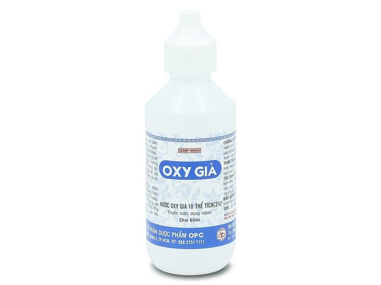 Nước oxy già 3% có khả năng tiêu diệt vi khuẩn, kháng viêm cực mạnh