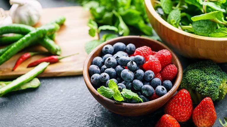 Các thực phẩm lành mạnh có thể chống viêm tự nhiên