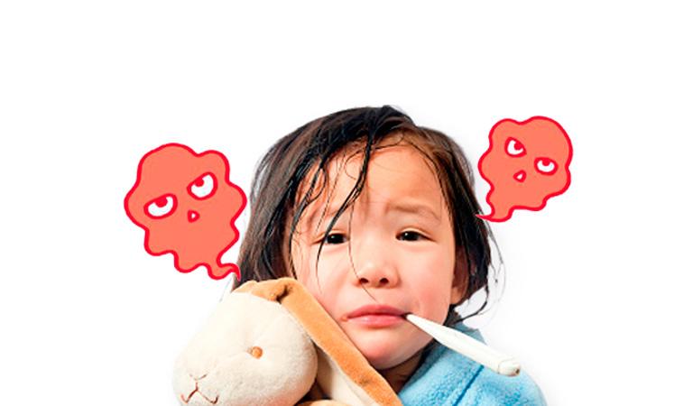 Trẻ em hệ miễn dịch kém rất dễ bị co thắt phế quản khó thở