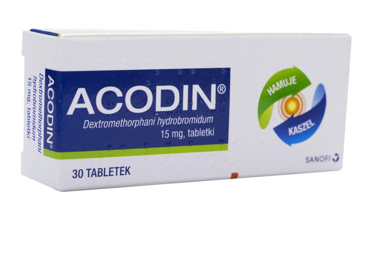 Thuốc Acodin trị long đờm