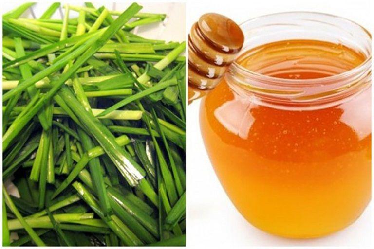 Sử dụng hẹ và mật ong là cách trị viêm họng hiệu quả cho cả người lớn và trẻ nhỏ
