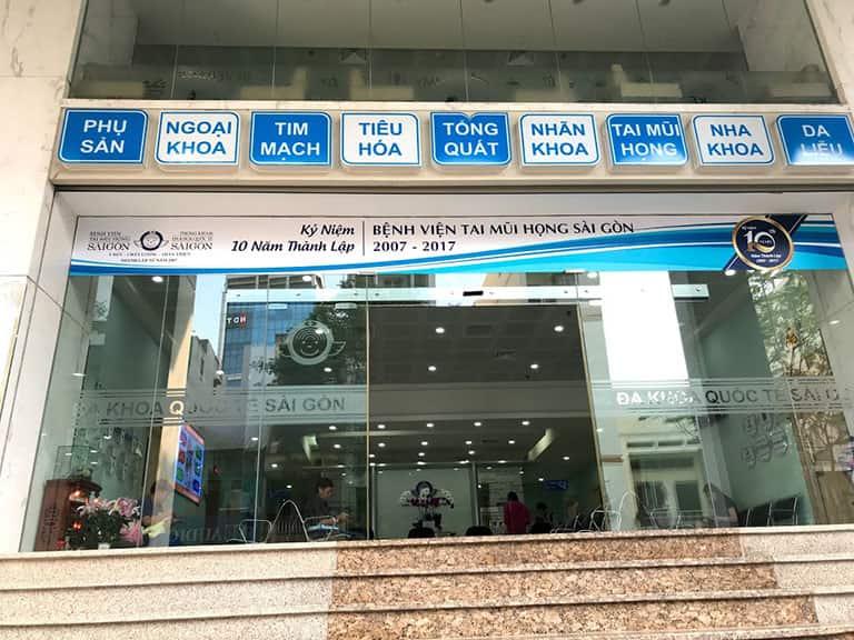 Bệnh viện Tai mũi họng Sài Gòn chữa viêm xoang hiệu quả