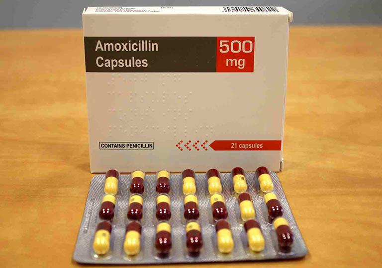 Amoxicillin là loại kháng sinh chữa viêm xoang được chỉ định nhiều nhất