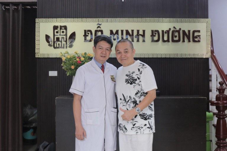 Nghệ sĩ Xuân Hinh đã hết hẳn đau nhức xương khớp nhờ điều trị tại Đỗ Minh Đường