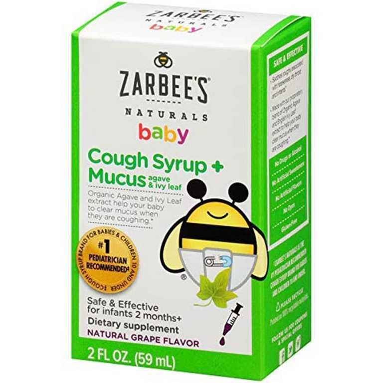 Zarbee's Baby Cough lành tính với trẻ, đặc biệt là trẻ từ 2 tháng tuổi