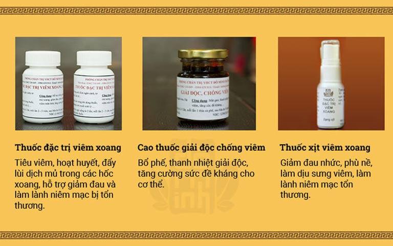 Tác dụng bài thuốc viêm xoang Đỗ Minh