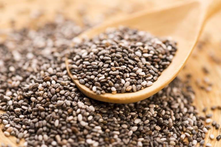 hạt chia là thực phẩm tốt cho đại tràng