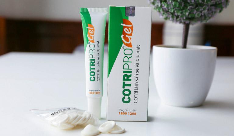 Cotripro gel điều trị trĩ