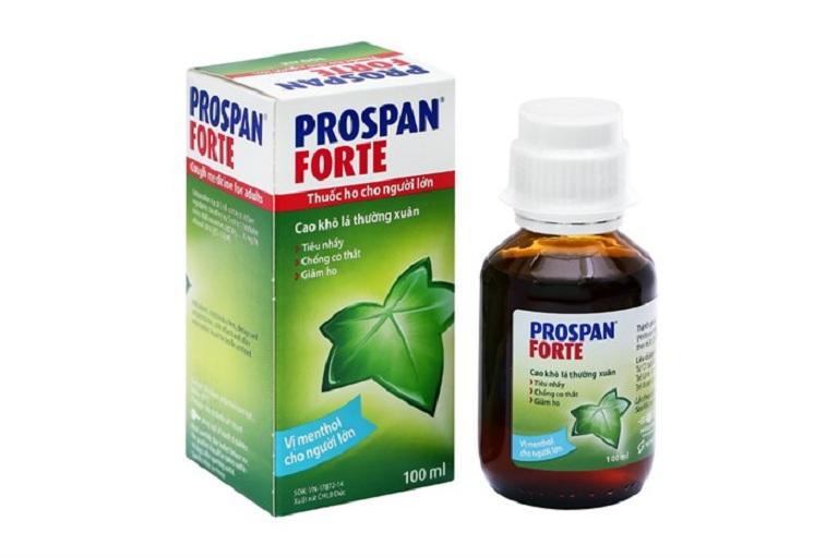 Prospan chiết xuất hoàn toàn từ tự nhiên an toàn cho cả trẻ nhỏ và người lớn