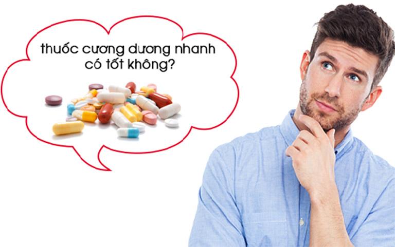 Thuốc tây có thể gây tác dụng ngược nên người bệnh cần thận trọng khi điều trị