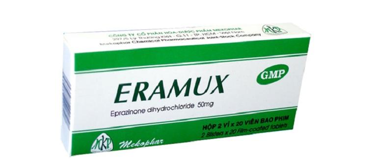 Thuốc Eramux dùng cho đối tượng là người lớn có nhiều dịch đờm do bệnh hô hấp gây ra