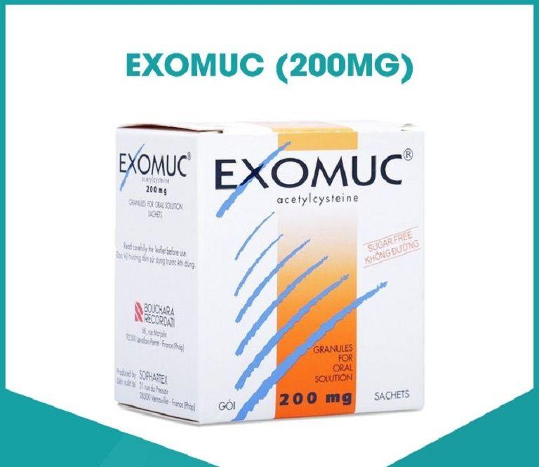 Thuốc long đờm Exomuc phù hợp dùng cho cả người lớn và trẻ nhỏ